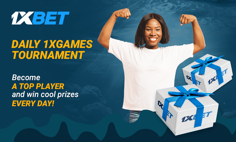 Everyday is a Winning Day with 1xBet's Tournaments